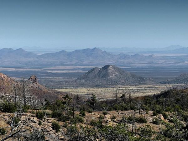 Harris Mountain Chiricahua National Monument