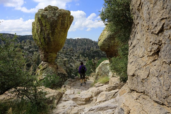 Balanced Rock sur Massai Nature Trail Chiricahua National Monument