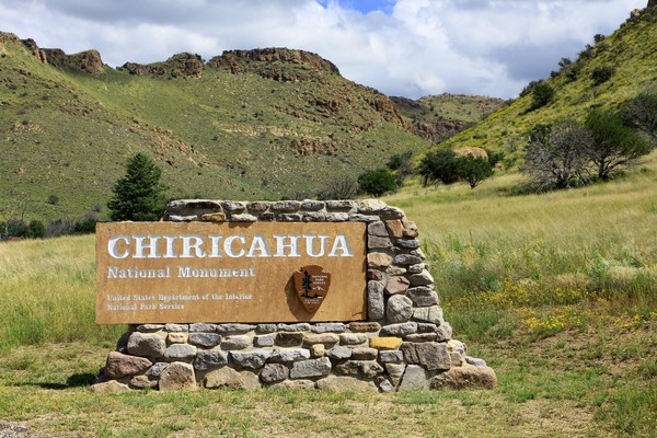 Entrée Chiricahua National Monument