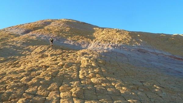 Montée sur le Yellow Rock