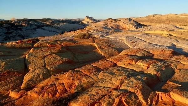 La vue depuis le sommet de Yellow Rock