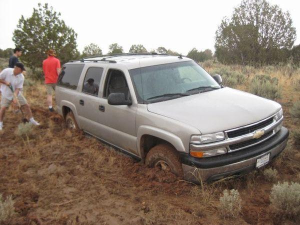 Difficultés d'accès à Coyote Buttes South Arizona