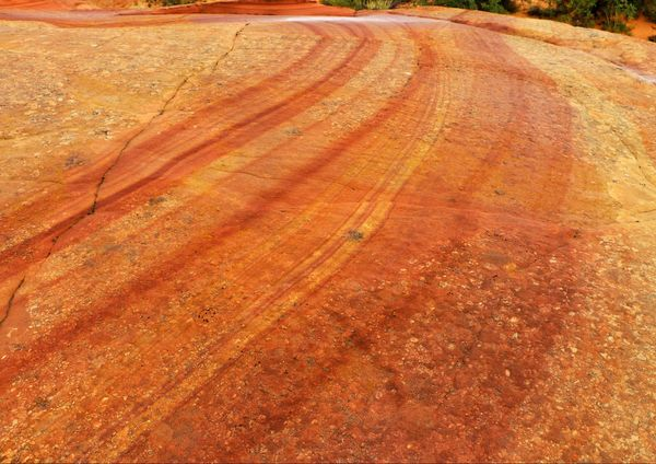 Détail roche Coyote Buttes South Arizona