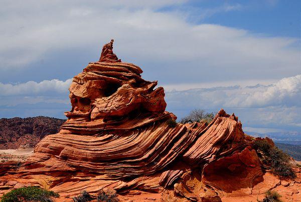Samouraï Rock Coyote Buttes South Arizona