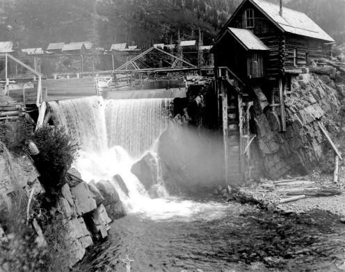 Crystal Mill entre 1893 et 1900