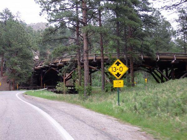 Pigtrail Bridge Custer State Park
