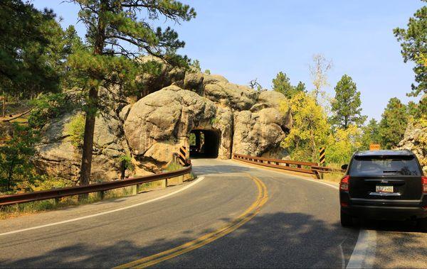Doane Robinson Tunnel Custer State Park