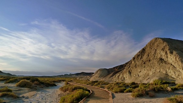 Salt Creek Interpretive Trail Death Valley