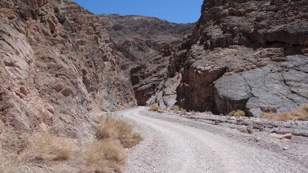 Titus Canyon Death Valley