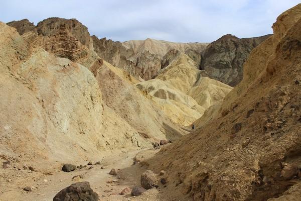 Golden Canyon Interpretive Trail Death Valley
