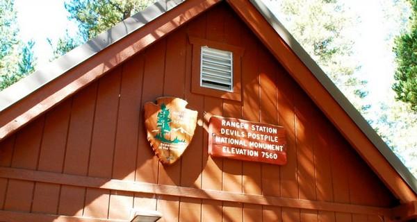 Ranger station Devils Postpile