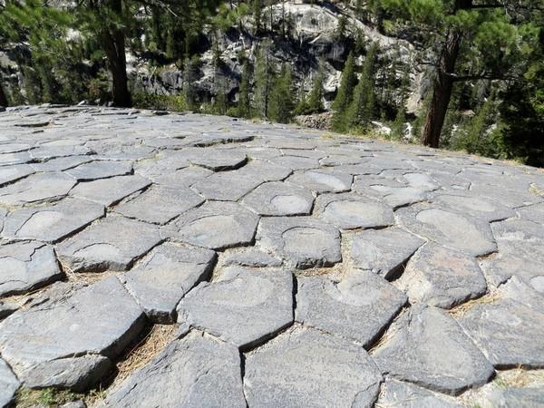 Géologie Devils Postpile