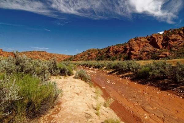 Wash boueux accès Edmaier's Secret Arizona
