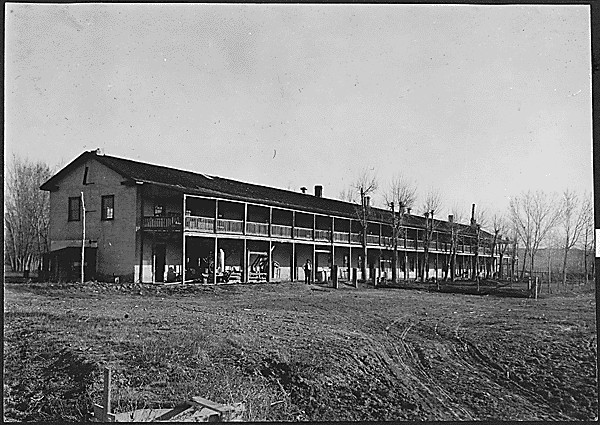 Fort Laramie 2 mai 1909