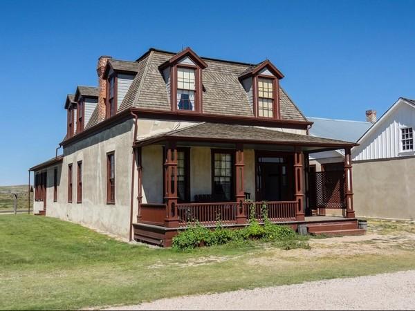 Lt. Colonel's Quarters (Burt House) Fort Laramie