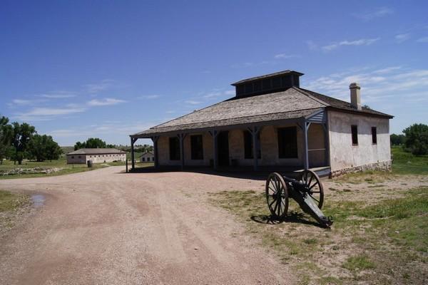 New Guard House Fort Laramie