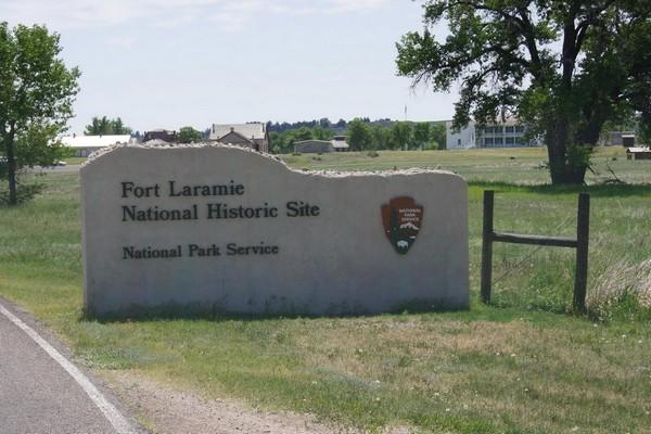 Entrée Fort Laramie National Historic Site