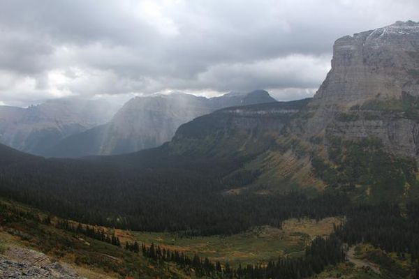 Going-To-The-Sun Road Glacier NP