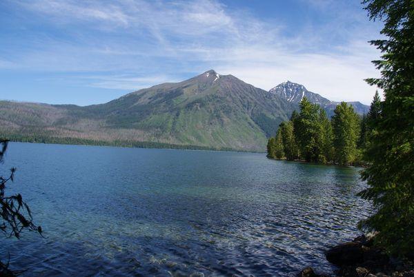 Mc Donald Lake Glacier National Park