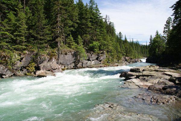Mc Donald Lake Glacier NP