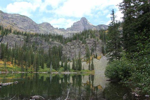 Snyder Lakes Glacier NP