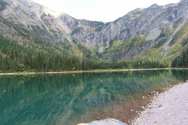Trail of the Cedars Glacier NP