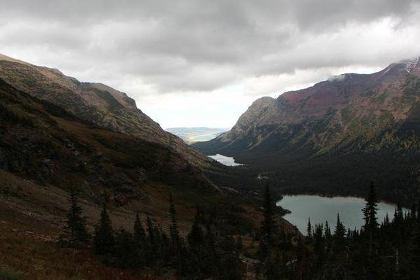 Grinnell Lake et Josephine Lake au second plan