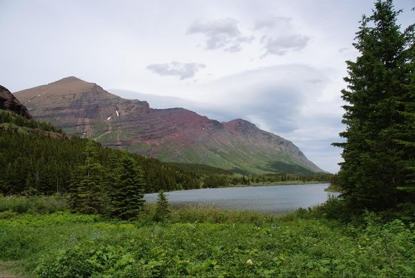 Fishercap Lake Glacier National Park