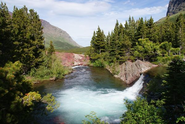 Red Rock Lake Glacier National Park