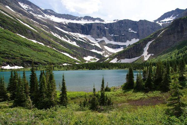 Bullhead Lake Glacier National Park Montana