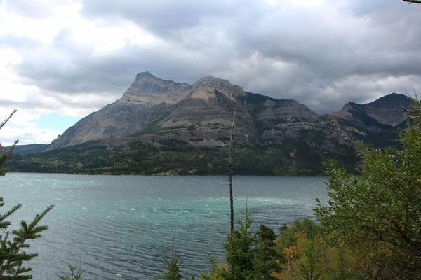Bertha Lake Glacier National Park