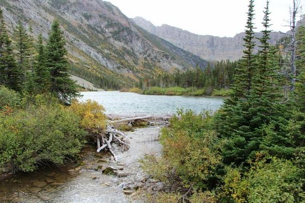 Bertha Lake Glacier NP