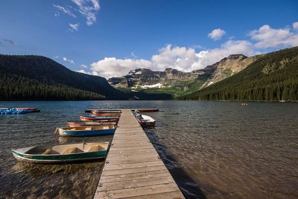 Carthew-Alderson Cameron Lake Glacier National Park Montana