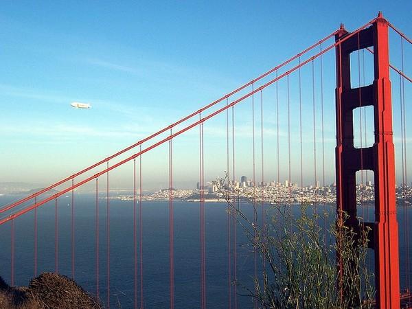 Le Golden Gate Bridge depuis la Conzelman Road