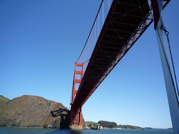 Croisière baie San Francisco