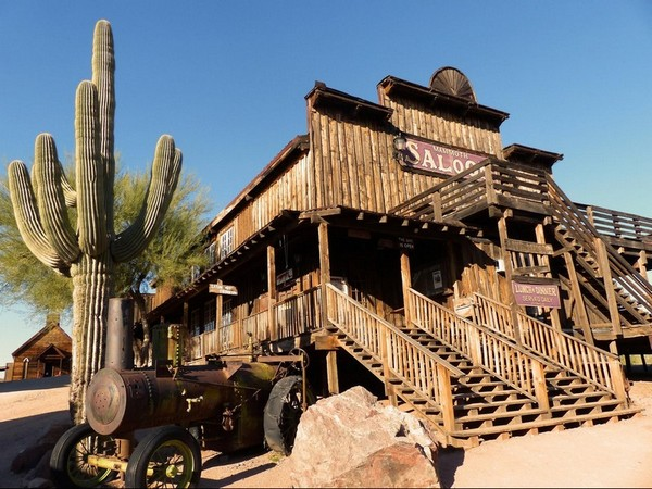 Saloon Goldfield Ghost Town