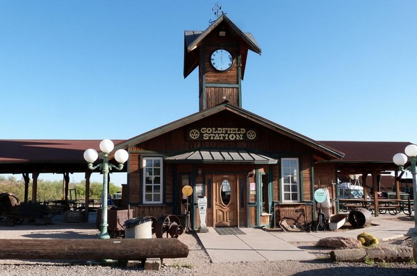 Goldfield Ghost Town Station