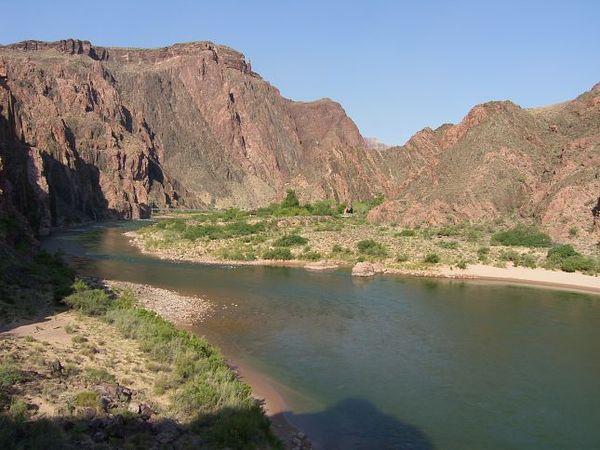 Fleuve Colorado Grand Canyon Arizona