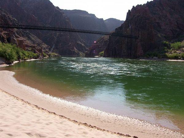 Plage Colorado Black Bridge Grand Canyon Arizona