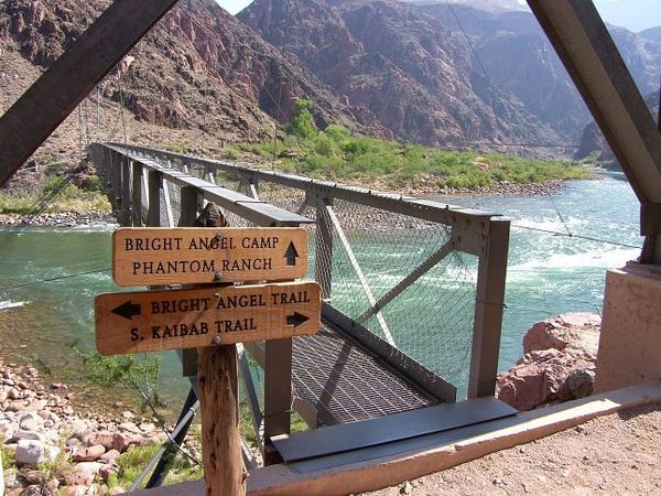 Silver Bridge Grand Canyon Arizona