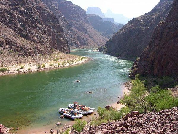 Rafting sur le Colorado Grand Canyon Arizona