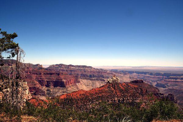 Vista Encantada rive nord Grand Canyon Arizona