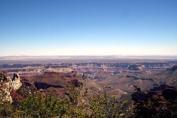 Roosevelt Point Grand Canyon Rive nord Arizona