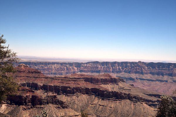 Vue depuis Cape Royal rive Nord Grand Canyon Arizona