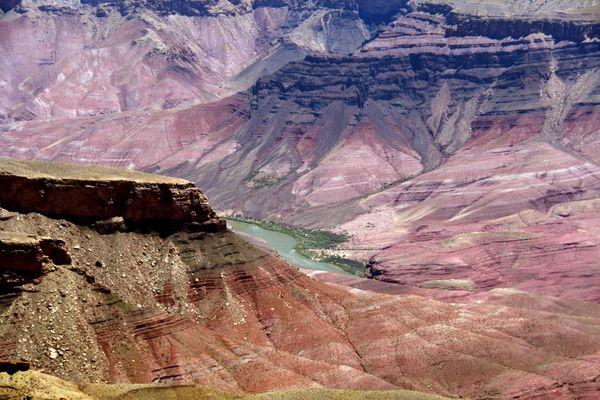 Vue après Angels Window rive Nord Grand Canyon Arizona
