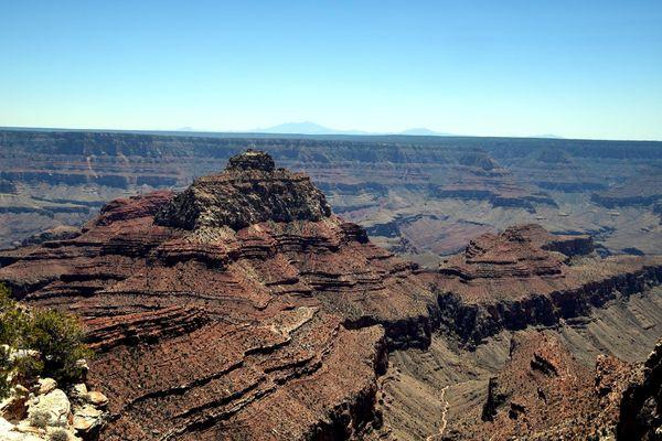 Vishnu Temple rive Nord Grand Canyon Arizona