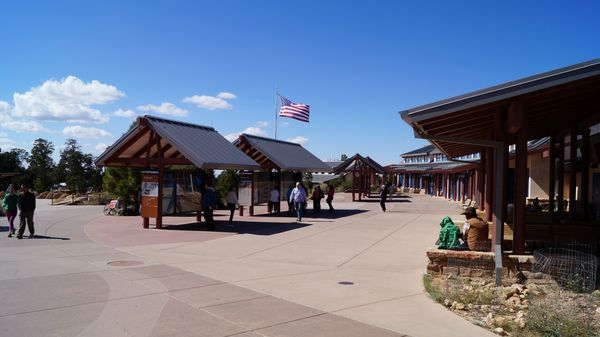 Grand Canyon Visitor Center rive sud