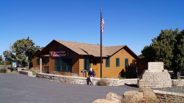 Desert View Visitor Center rive sud Grand Canyon Arizona