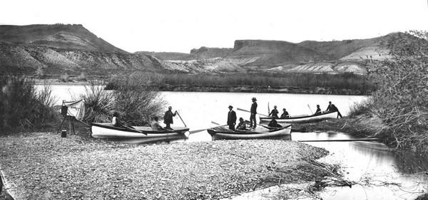Expédition Powell en 1871 Grand Canyon