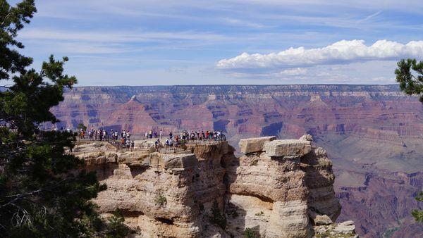 Mather Point Grand Canyon Arizona
